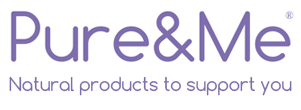 Pure and Me blog Logo